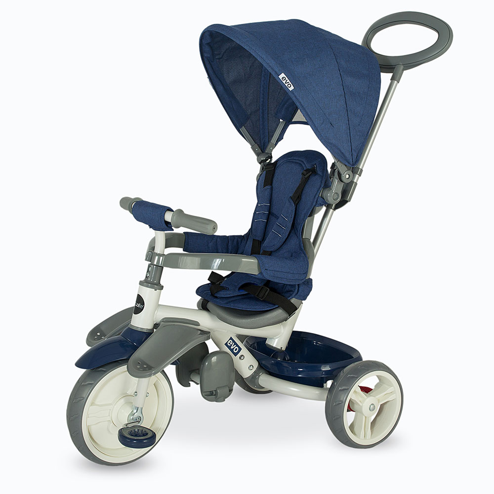 Tricicleta Coccolle Evo Albastru