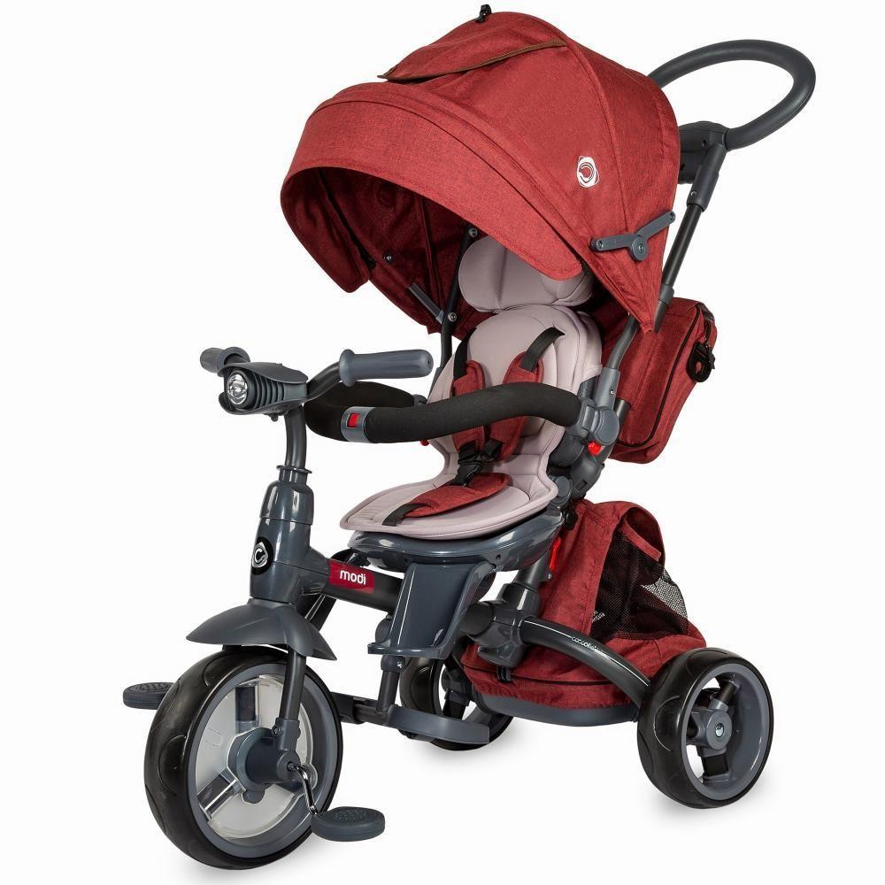Tricicleta Multifunctionala Coccolle Modi 2019 Rosu