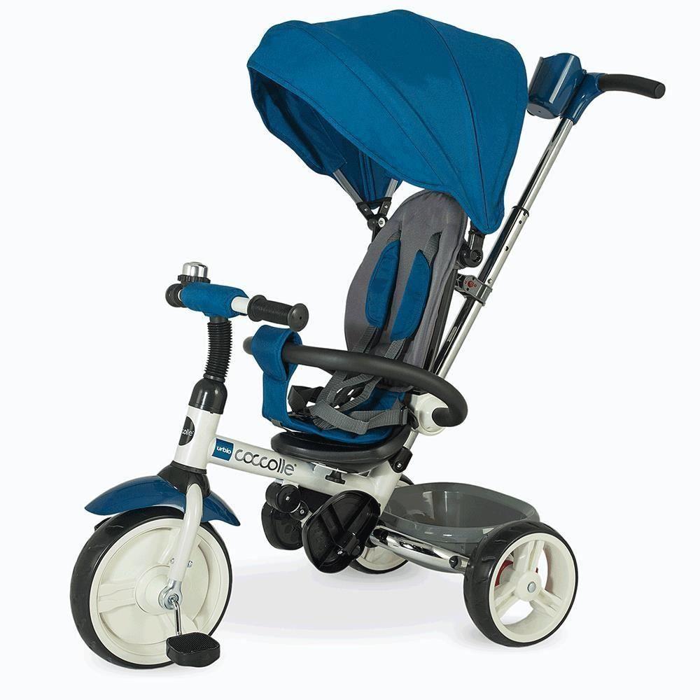 Tricicleta Pliabila Coccolle Urbio Albastru